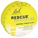 Bach Rescue Remedy Pastilles Orange Flower Essences 50 G Lozenge