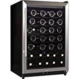 midea WHS-169WE(N) 45-Bottle Wine Cooler Stainless Steel
