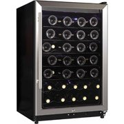 Midea Whs-169We(N) 45-Bottle Wine Cooler, Stainless Steel