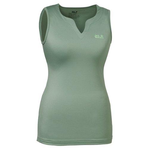 Jack Wolfskin Damen Shirt Basic Top Women, Opal Green, XXL, 1802551-4028006