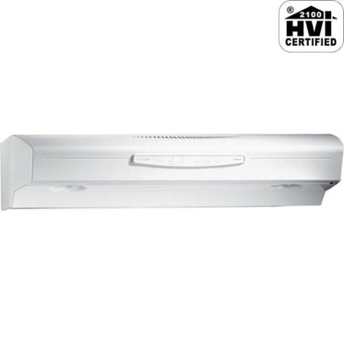 Broan QS230WW Allure II Under-Cabinet Range Hood, 30-Inch, White (100 Cfm Hood compare prices)