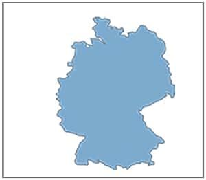 Falk Premium Carte Allemagne loisirs pour GPS Ibex et Lux