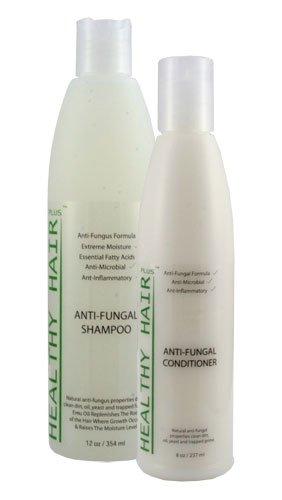 Healthy Hair Plus - Anti Fungal Shampoo (12 oz) & Conditioner (8 oz)