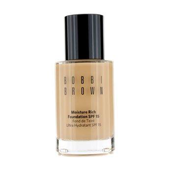 바비 브라운 Bobbi Brown Moisture Rich Foundation SPF15 - #4.25 Natural Tan - 30ml/1oz,Natural Tan