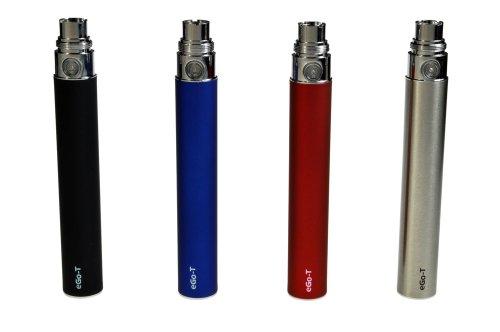eGo-T Batterie de cigarette électronique standard 1100 mAh argent