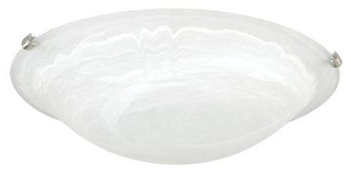 Yosemite Home Decor JB11-12MC Belen 2-Light 11.75-Inch Ceiling Flush Mount with Multi-Colored Clips