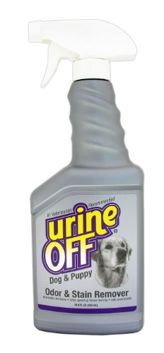 Urine Off Odor and Stain Remover Dog Formula Sprayer Top 16.9oz