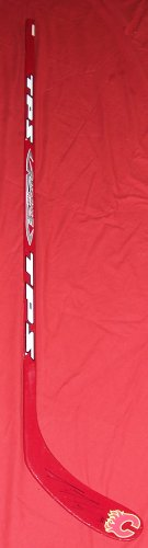 Dion Phaneuf Autographed Team Canada Logo Full Size Hockey Stick, Toronto Maple Leafs, Calgary Flames, Proof Photo of Dion Signing for Us.