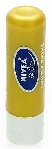 NIVEA LIP CARE GOLD & SHINE LIP BALM - 1 PC