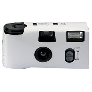 Disposable Wedding Camera in White