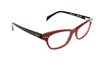 mikli womens eyeglasses ml1027 red amazoncouk clothing