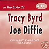 TRACY BYRD and JOE DIFFIE Country Karaoke Classics CDG Music CD