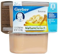 Gerber NatureSelect 2nd Foods Banana -- 8 Pack