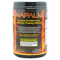 Muscle Warfare NAPALM 316g Fruit Punch