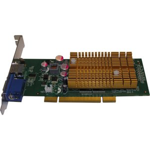 Jaton VIDEO-348PCI-256TV GeForce 6200 256MB DDR2 VGA/TV-Out Low-Profile PCI Video Card