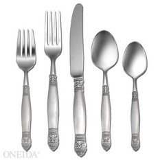 Oneida Dickinson Flatware 46 Pc Set 18/10 Stainless