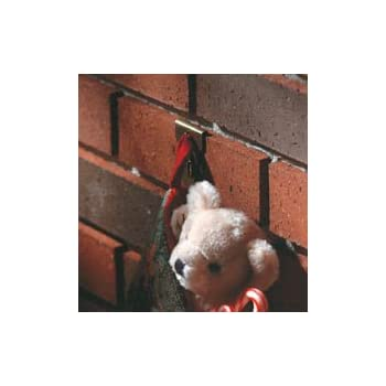2ct Brick Clips for Hanging Christmas Lights, Wreaths and Decorations