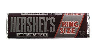 HERSHEY CHOCOLATE 34000-22000 KING SIZE MILK CHOCOLATE BAR (PACK OF 18)
