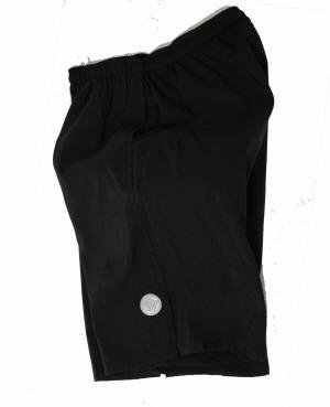 ATD Mountain Bike Short MTB Loose Fitting Padded Shorts - Black Small