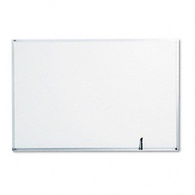 Quartet Standard Dry-Erase Board, Melamine, 6 feet x 4 feet, White, Aluminum Frame (S537)