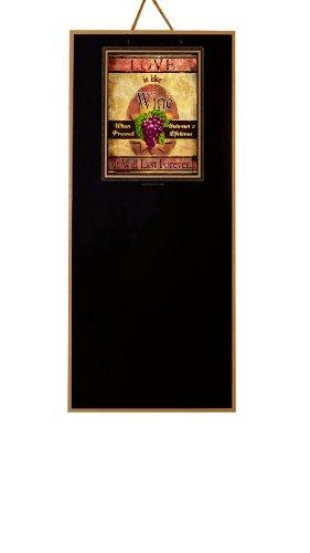 Board Designs JP-001 Artist Inspired Chalkboard, Love is Like Wine by Joel Payne
