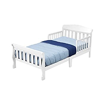 Delta Children Canton Toddler Bed, White