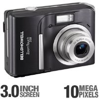 Bell and Howell Z10T-B ZoomTouch 10.0MP Touchscreen Digital Camera (Black)