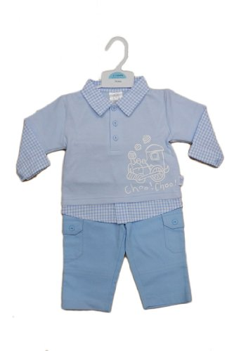 Baby Boys 2 Piece Top and Trousers 0-3 Months