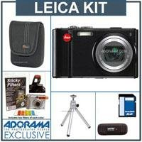 Leica V-LUX 20 Compact Digital Camera Kit, with 8GB SD Memory Card, Camera Case, Table Top Tripod, USB 2.0 SD Card Reader, MPS Sticky Filters