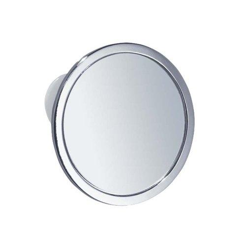 InterDesign Suction Fog-Free Mirror, Chrome