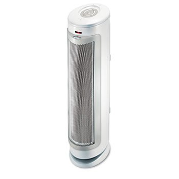 New-Bionaire BAP1525RCWU - Permatech Tower Air Cleaner w/HEPA-Type Filter, 180 sq ft Room Capacity - BNRBAP1525RCWU