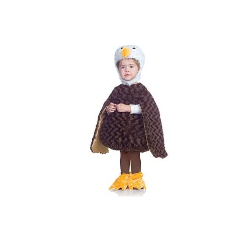 Amazon.com: Bald Eagle Toddler Costume Size 4-6 X-Large: Clothing
