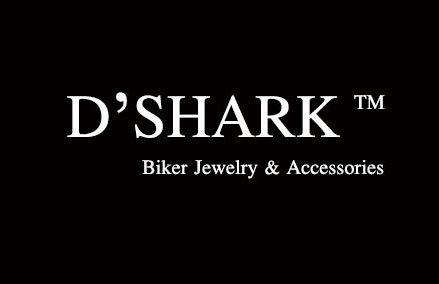 D'SHARK Men's Biker Genuine Leather Billfold Wallet with Chain (Brown) 4