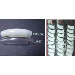 N1 Professional Salon Clear Nail Tips - 200 Pieces - Best Quality @ Best Price