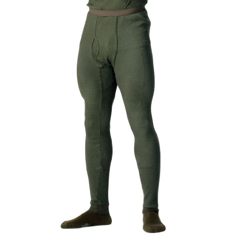 Olive Drab Thermal Knit Underwear Bottoms