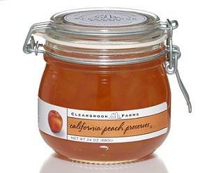 Clearbrook Farms California Peach Preserves