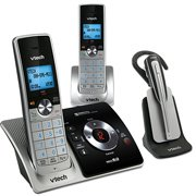 Vtech 2 Handset Answering System with Cordless Headset(LS6375-3) from Vtech