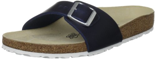 Birkenstock Women's Madrid 97 UK3 UK1 Dark Blue Slides Sandal 2 UK 35 EU