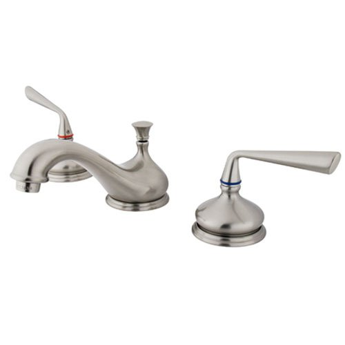 Copenhagen Double Handle Widespread Bathroom Faucet Finish: Satin Nickel