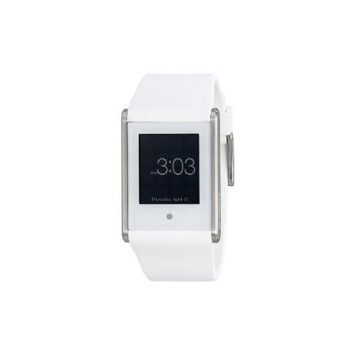 腕時計 Phosphor Unisex TT04 Touch Time Digital Display Quartz White Watch【並行輸入品】