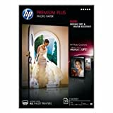 HP CR672A - Premium Plus Photo Paper - Glossy photo paper - A4 (210 x 297 mm) - 300 g/m2 - 20 sheet(s) - for Envy 100 D410, 11X D411, Photosmart 5525, 55XX B111, 6525, 65XX B211, 7510 C311, 7520