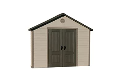 6414 Lifetime Products 11x3.5ft Garden and Tool Storage Shed