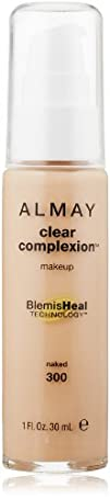 ALMAY Clear Complexion Makeup Naked 1 Fluid Ounce