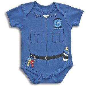 Bon Bébé BABY BOY Police ONESIE -Creeper COP NEWBORN Costume GIFT