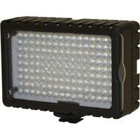 Bescor 125 Watt Equivalent High Intensity 6500°K on Camera LED Light with Dimmer & 4300°K Correction Filter
