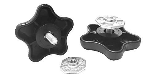 Carefree 901022 Black RV Awning Brace Knob with Clamp (Rv Parts Awnings compare prices)