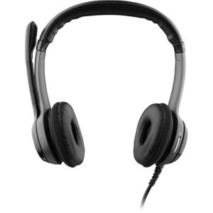 Logitech B530 Headset. B530 Usb Headset Optimized For Microsoft Lync 2010 Headst. Stereo - Usb - Wired - 20 Hz-20 Khz - Over-The-Head - Binaural Snr - Semi-Open - 96' Cable - Noise Cancelling Microphone