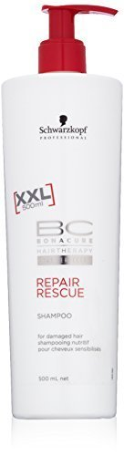 Schwarzkopf BC Repair Rescue Shampoo for Damaged Hair XXL 500ml by Schwarzkopf