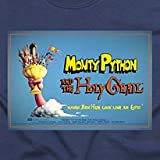 Monty Python and the Holy Grail Official T-shirt (navy)