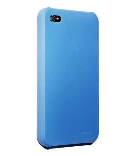 Hard Candy Cases Superlight Summertime Collection Case for Apple iPhone 4 (AT&T Version Only), Blue (SL4G-SMT-BLU)